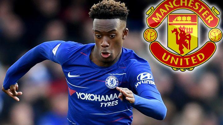 Man Utd plot shock summer move for wantaway Chelsea starlet Callum Hudson-Odoi