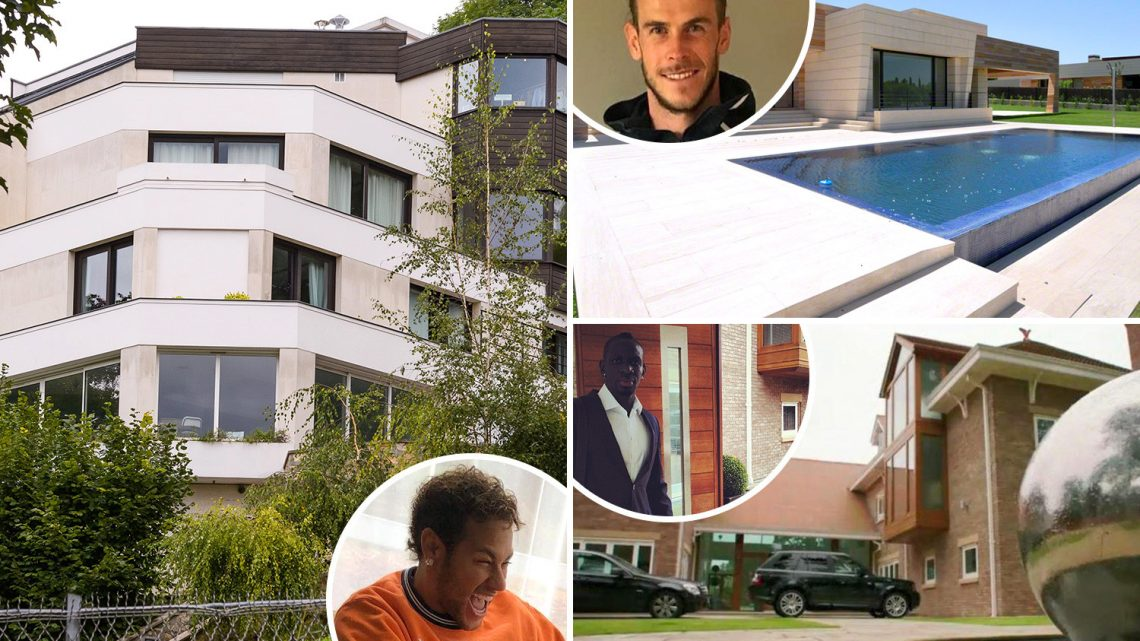 From Van Dijk and Solskjaer to Neymar and Ronaldinho, footballers whose luxury mansions belonged to fellow pros