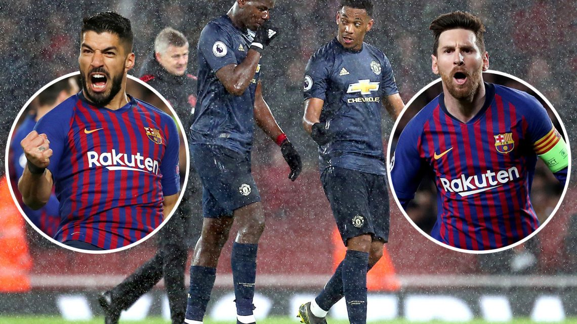 Man Utd must defy the stats when they face five bogeymen from Barcelona