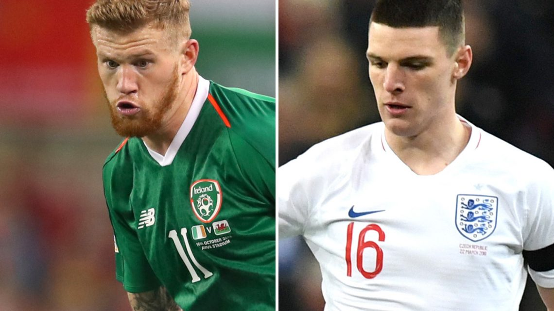 James McClean tells Declan Rice to 'sod off' after choosing England over Ireland