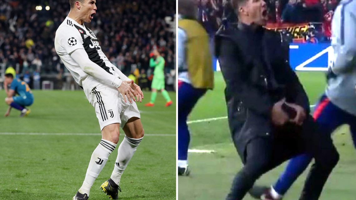Ronaldo will escape ban for mocking Simeone with 'cojones' cele, claims Juve boss Allegri