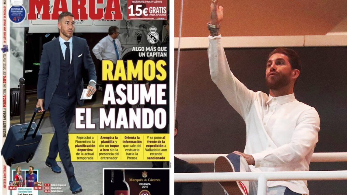 def29ccb1e1 Ramos hauls Real Madrid players in for crisis meeting after threatening to  quit club over dispute