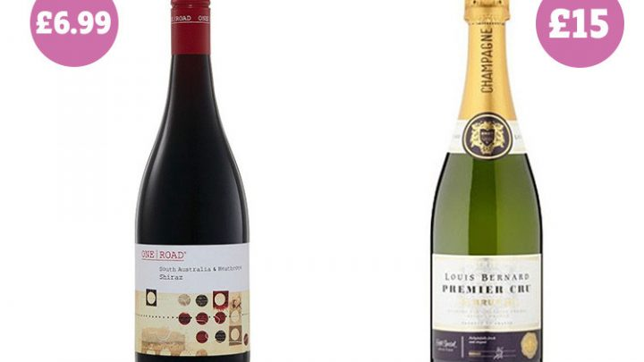Aldi red wine and Asda's champagne beat luxury rivals to best booze award