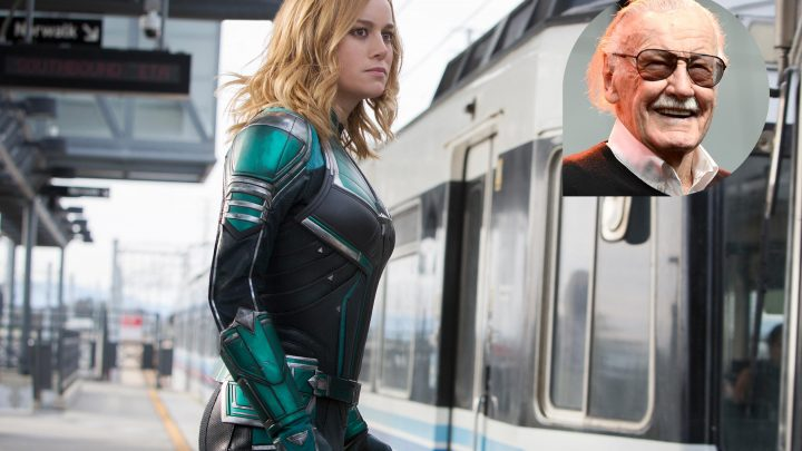 How Captain Marvel pays tribute to the late Stan Lee