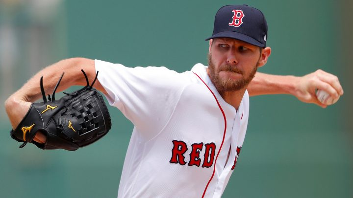 Chris Sale getting his monster contract with Red Sox