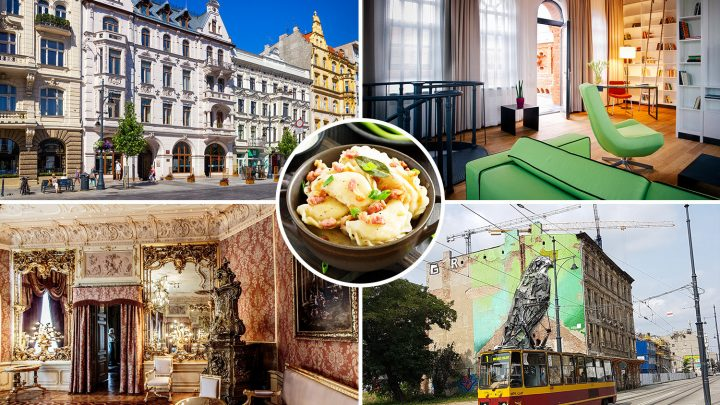 The 'Manchester of Poland' Lodz is brimming with shops, street art & night life