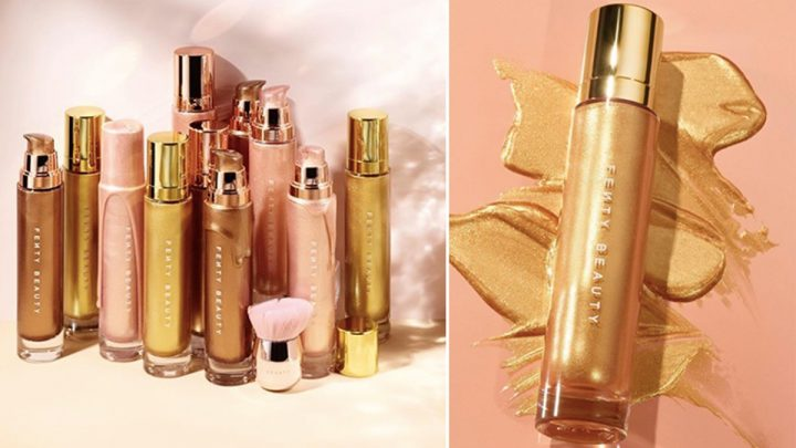 A New Fenty Beauty Body Lava Shade Is Here, So You Know Summer's About To Glow Down
