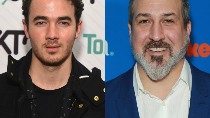 Kevin Jonas & Joey Fatone Make Your Boy Band Crossover Dreams Come True In This New Video