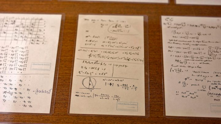 Famous Einstein 'puzzle' solved after missing page found