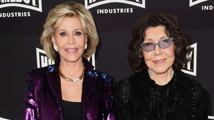Jane Fonda & Lily Tomlin Buddy Up for Lo Maximo Awards