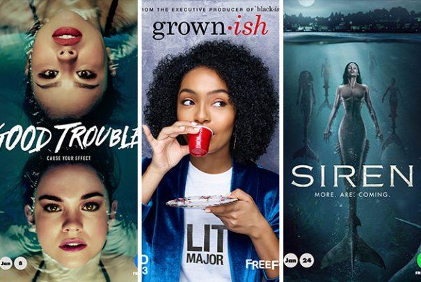 'Good Trouble', 'Grown-ish' & 'Siren' Get Summer Return Dates On Freeform