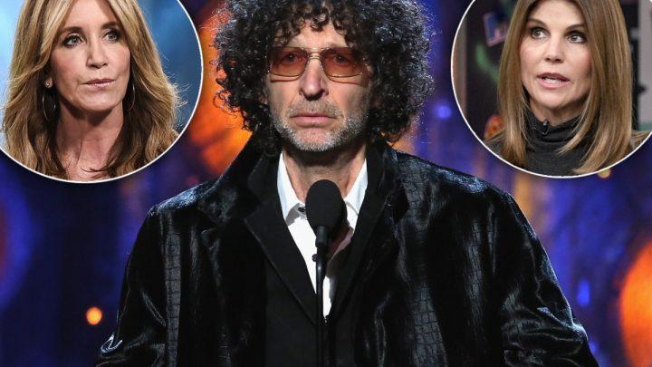 Howard Stern Slams Lori & Felicity's Kids Over College Admission Scandal