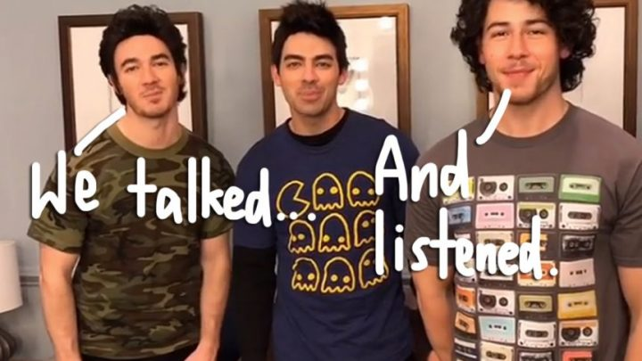 The Jonas Brothers Did A Year Of Band Therapy Before Reuniting!