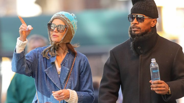 Katie Holmes and Jamie Foxx bundle up for a NYC stroll