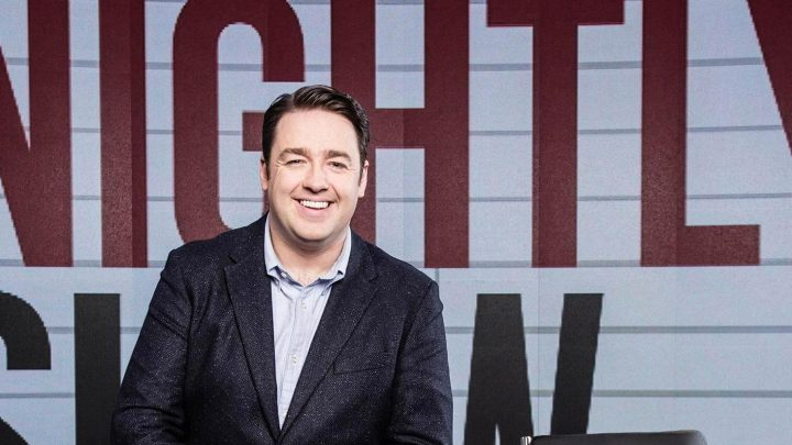 How old is Jason Manford, what TV shows has he been on and who is the comedian's wife Lucy Dyke?