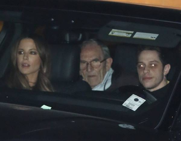 Pete Davidson & Kate Beckinsale Have Dinner With Her Mom and Step-Dad