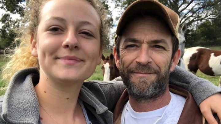 Luke Perry's Daughter Responds to Trolls Criticizing Her 'Grieving Process'