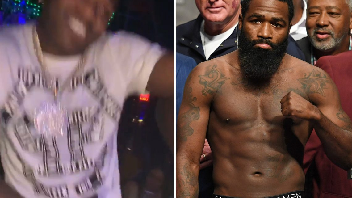 Adrien Broner handcuffed for jaywalking in Miami as boxer enjoys Spring Break with Gervonta Davis