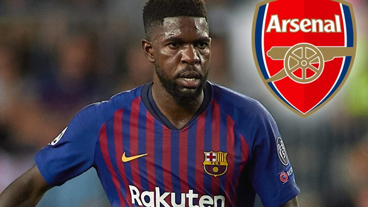 Arsenal 'open talks' with Barcelona defender Umtiti over shock summer transfer as Spaniards look to trim wage bill