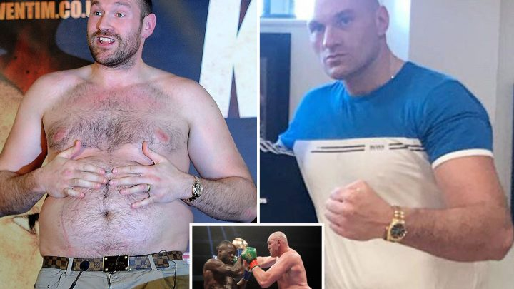 Lean Tyson Fury wows with impressive physique and claims he has 'happy, healthy mind, body and soul' after Schwarz fight announced