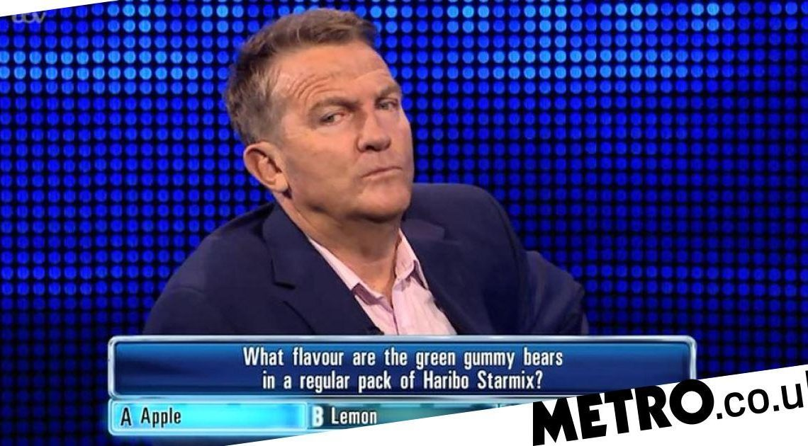 The Chase viewers have minds blown over green gummy bear Haribo question