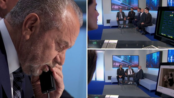 Celebrity Apprentice viewers spot Lord Sugar's receptionist watching cat videos – saying SHE should be fired
