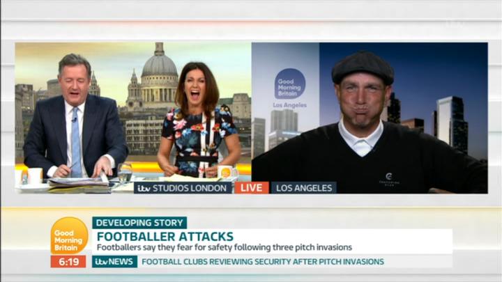 Susanna Reid left stunned as Vinnie Jones 'fat shames' Piers Morgan live on Good Morning Britain