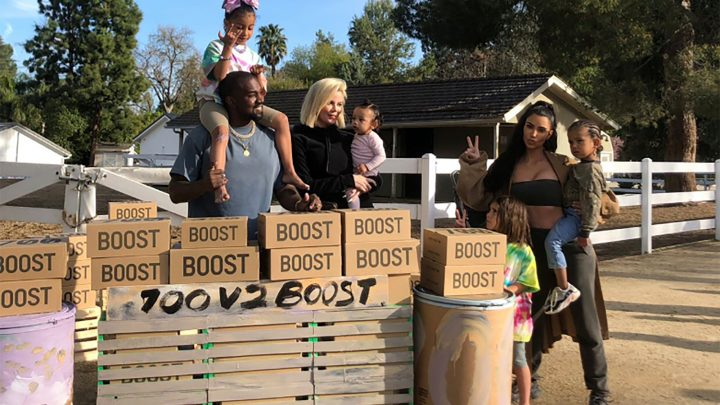 Kanye and Kim launch Yeezy lemonade stands for mental health charity