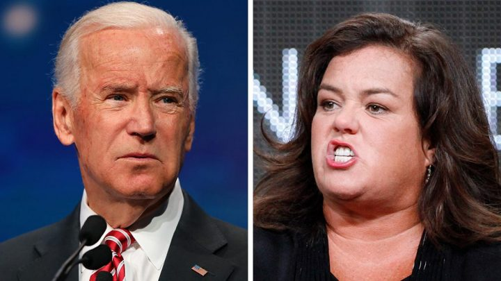 Rosie O'Donnell says Biden is 'too old' to launch White House bid