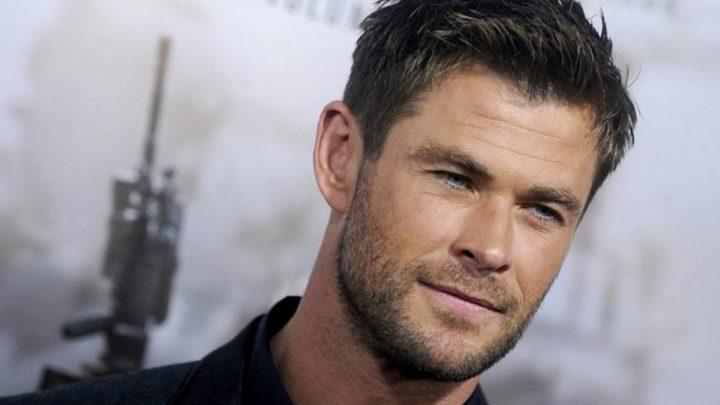 Chris Hemsworth shares selfie with quokka in Australia