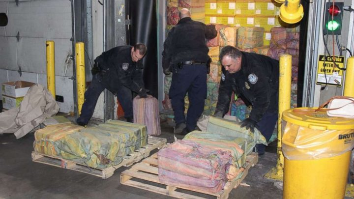 Feds seize tens of millions of dollars' worth of cocaine in major drug bust