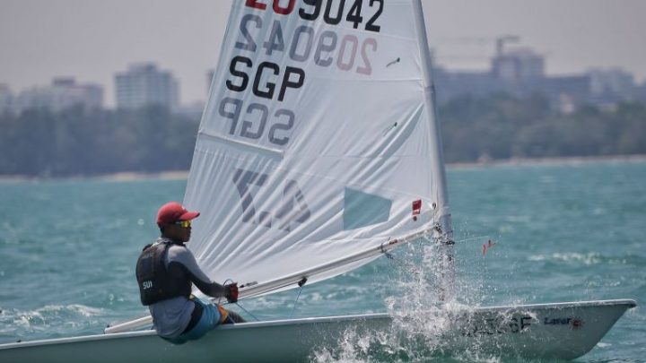 Sailing: Jonathan Lio wins Laser 4.7 title at inaugural Asian Open Laser Championships