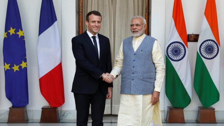 Modi, Macron sign defence deal
