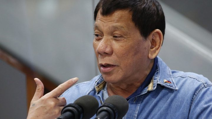 Duterte announces Philippines' 'immediate' withdrawal from ICC