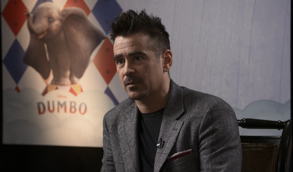 Colin Farrell: 'Shooting Dumbo was magical and fundamentally sweet at its core'
