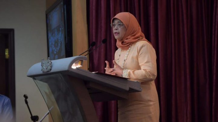 President Halimah Yacob praises Singapore athletes for delivering 'milestones' in major Games in 2018