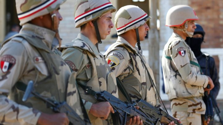 Report: Western states aided Egypt's military power consolidation