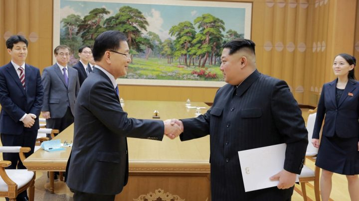 North Korea open to freezing nuclear weapons tests amid talks