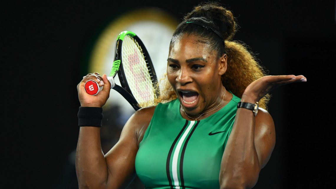 Serena Williams shakes off Rebecca Peterson in Miami opener