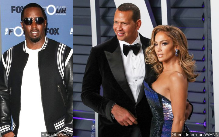 This Is What P. Diddy Said to Alex Rodriguez After Leaving Thirsty Comment on Jennifer Lopez's Pic