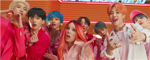 """Watch BTS & Halsey's """"Boy With Luv"""" Video For All The Friday Feels"""