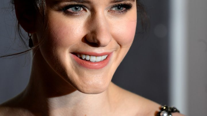 Rachel Brosnahan Just Dyed Her Jet Black Hair Blonde & Looks Completely Unrecognizable