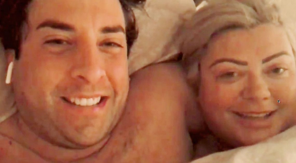 Naked Gemma Collins cuddles up to Arg in cringy intimate bed video