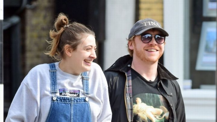 Rupert Grint and girlfriend Georgia Groome spark marriage rumours with rings