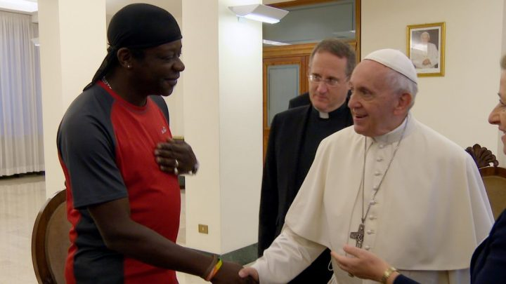Pope Francis – 'Anyone who discards gay people doesn't have a human heart'