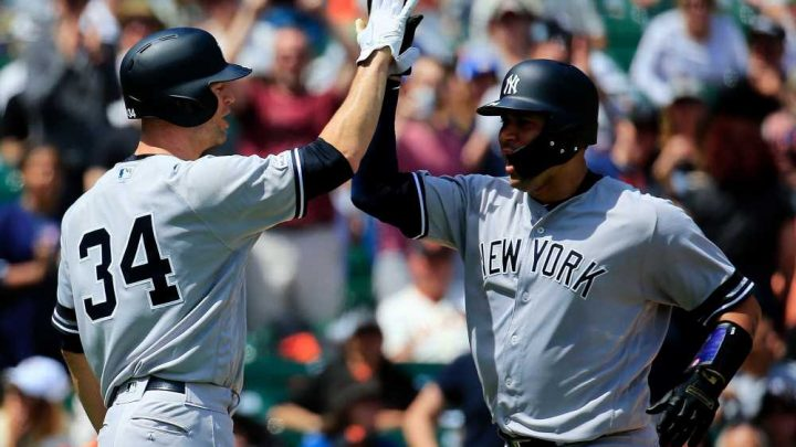 Yankees hold on late after Gary Sanchez finally breaks out