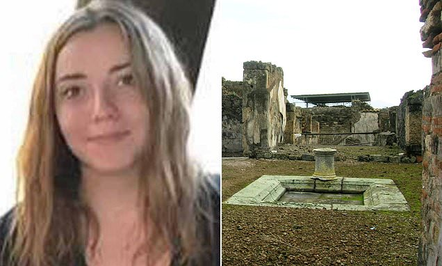 British student who 'stole floor tiles at Pompeii' vows to clear name