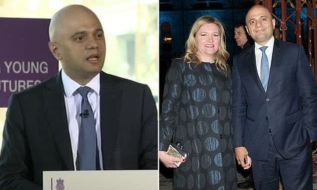 Sajid Javid backs stop and search, tells of worries for his children