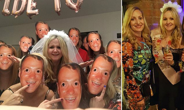 Hen party wants to find man behind mask after receiving wrong order