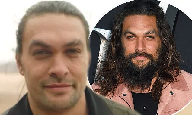 Jason Momoa fans are distraught as actor shaves off his famous beard